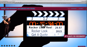 Website spoke person video for rocker look videography san francisco