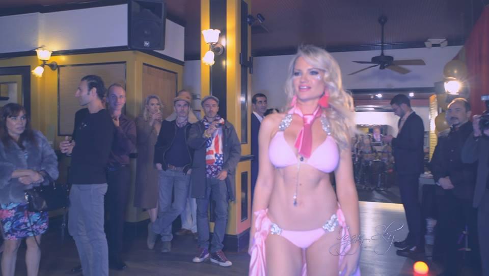 ULYLY Swimwear - Fashion Model - Ulyana Zilbermints Film Crew SF Iggy Sky