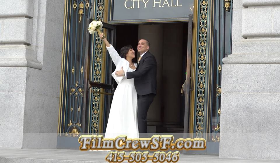 SF City Hall Wedding Video Videography